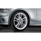 "36110427745 - Set roti complete de vara BMW Double Spoke 182 - 18"" - BMW Seria 1 E81, E82, E87, E88 