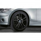 "36110443020 - Set roti complete de vara - BMW Double Spoke 182 - 18"" - BMW Seria 1 E81 E82 E87 E88 
