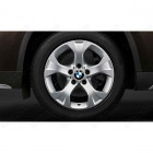 "36112287791 - Set roti complete de vara BMW Star-spoke 317 - 17"" - BMW X1 E84 RDC LC 