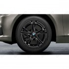 36112462087 - Roata completa de iarna - Double Spoke 473 - cu anvelopa Continental Winter Contact TS830P SSR* - 205/60 R16 - RDCi - BMW Seria 2 F45, F46 | Original BMW