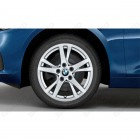 36112462088 - Roata completa de iarna - Double Spoke 473 - cu anvelopa Continental Winter Contact TS830P SSR* - 205/60 R16 - RDCi - BMW  Seria 2 F45, F46 | Original BMW