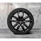"36112471526 - Roata completa de iarna, RDCi, 18"" JCW Grip Spoke 815 jet black uni - MINI F54 - Neagra 