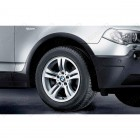 36113401200 - Janta din aliaj fata - Double Spoke 112 - 8J x 17 ET:46 - BMW X3 E83 | Original BMW